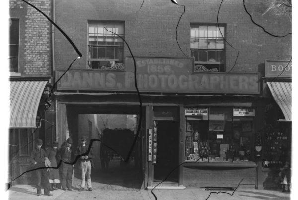 Mrs Dann's shop front