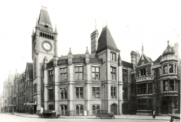 Reading Town Hall, 1920s